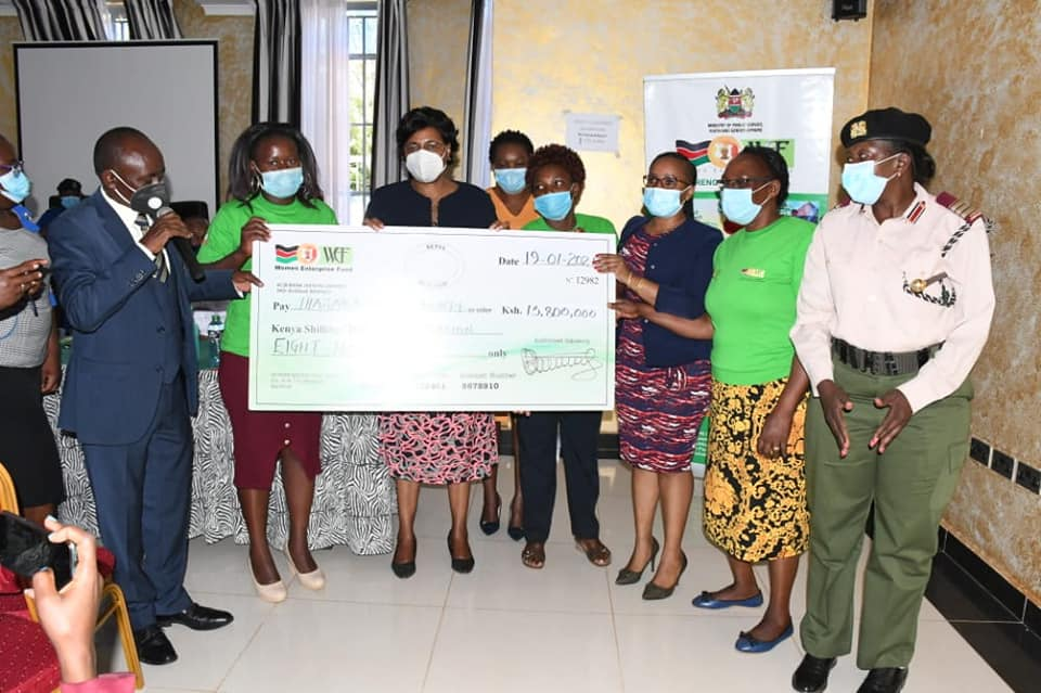 Cabinet Secretary Unveils Women and Youth Empowerment Projects